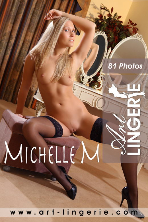 Michelle M - for ART-LINGERIE