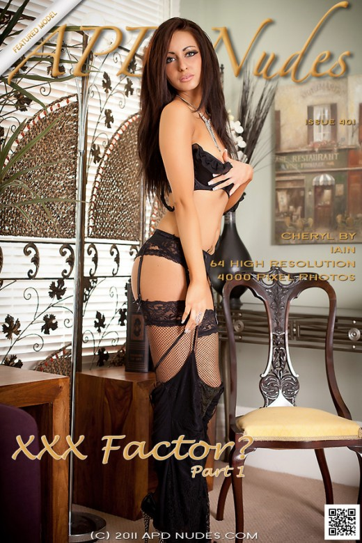 Cheryl - `XXX Factor? - Part 1 ( Advertising )` - by Iain for ART-LINGERIE