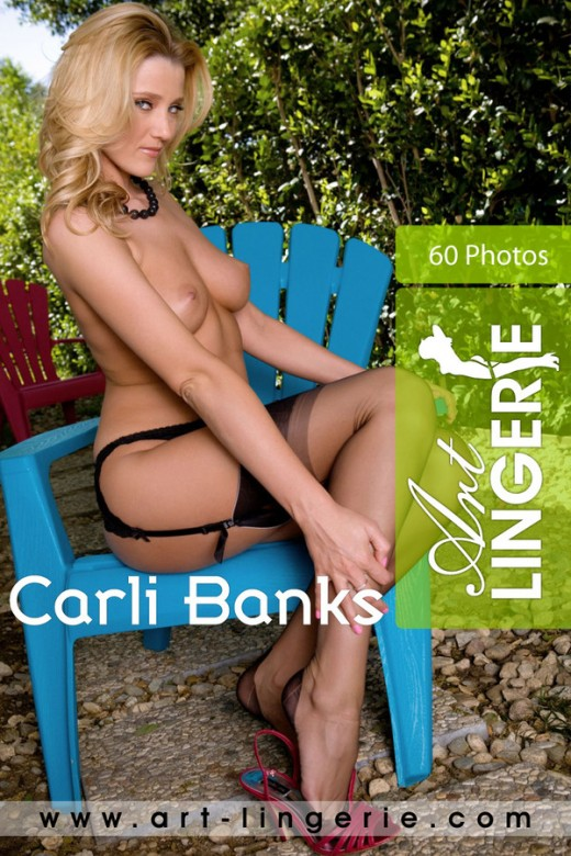 Carli Banks - for ART-LINGERIE