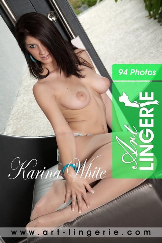 Karina White - for ART-LINGERIE