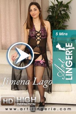 Jimena Lago  from ART-LINGERIE