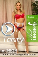 Tammy in  video from ART-LINGERIE
