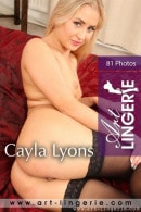 Cayla Lyons in  gallery from ART-LINGERIE