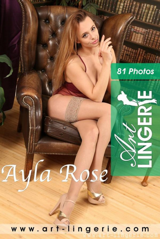 Ayla Rose in  gallery from ART-LINGERIE
