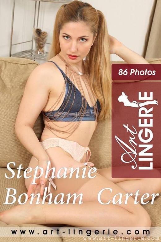 Stephanie Bonham Carter in  gallery from ART-LINGERIE