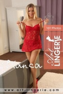 Blanca in  gallery from ART-LINGERIE