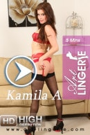 Kamila A in  video from ART-LINGERIE
