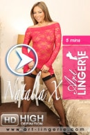 Natalia X in  video from ART-LINGERIE