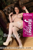 Brooke G in  gallery from ART-LINGERIE
