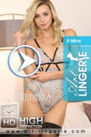 Dominika in  video from ART-LINGERIE