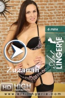 Zuzanah in  video from ART-LINGERIE