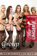 Natalia X & Scarlot Rose & Brook L & Tillie & Chloe Toy in Group gallery from ART-LINGERIE