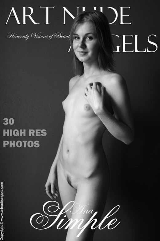 Ana - `Simple` - by Bredon for ART-NUDE-ANGELS
