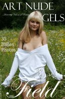 Anke in Field gallery from ART-NUDE-ANGELS by Bredon