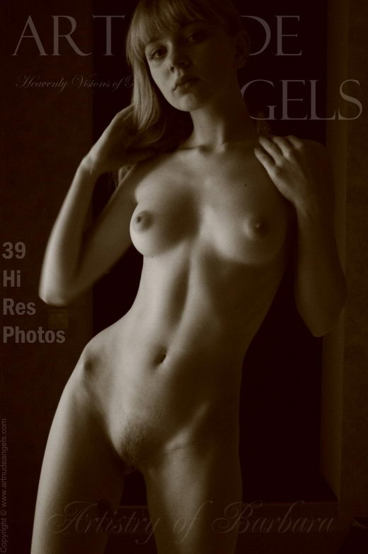 Barbara - `Artistry of Barbara` - by Bredon for ART-NUDE-ANGELS