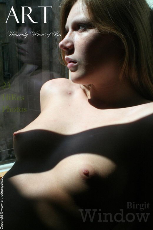 Birgit - `Window` - by Bredon for ART-NUDE-ANGELS