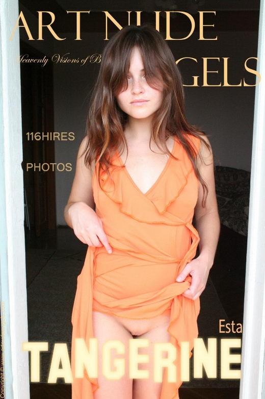 Esta - `Tangerine` - by Bredon for ART-NUDE-ANGELS