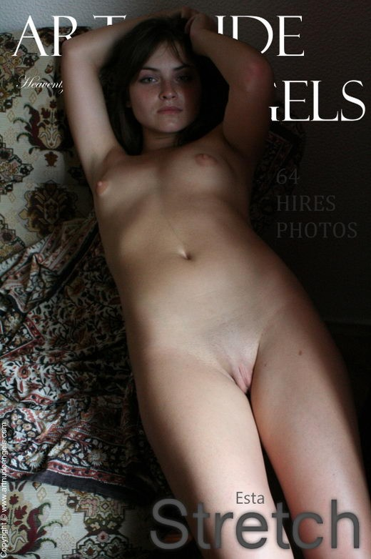 Esta - `Stretch` - by Bredon for ART-NUDE-ANGELS