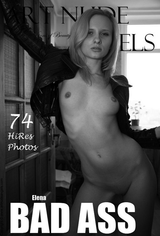 Elena - `Bad Ass` - by Bredon for ART-NUDE-ANGELS