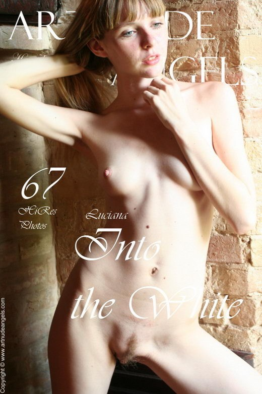 Luciana - `Enter the White` - by Bredon for ART-NUDE-ANGELS