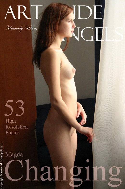 Magda - `Changing` - by Bredon for ART-NUDE-ANGELS