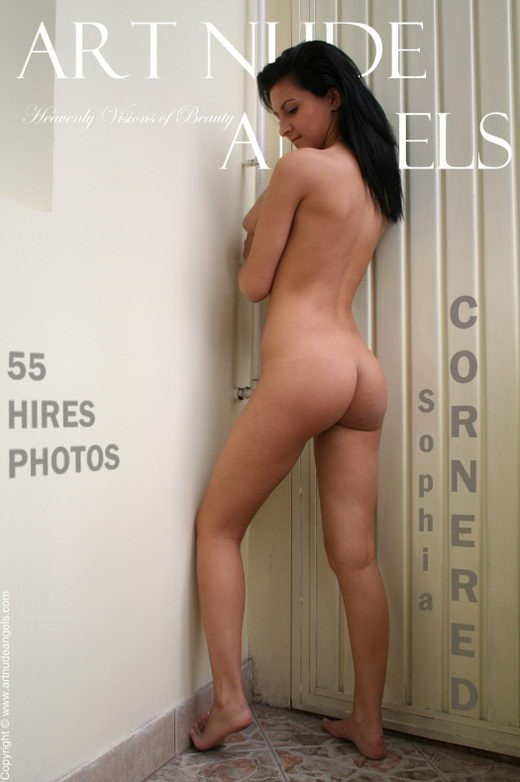 Sophia - `Cornered` - by Bredon for ART-NUDE-ANGELS