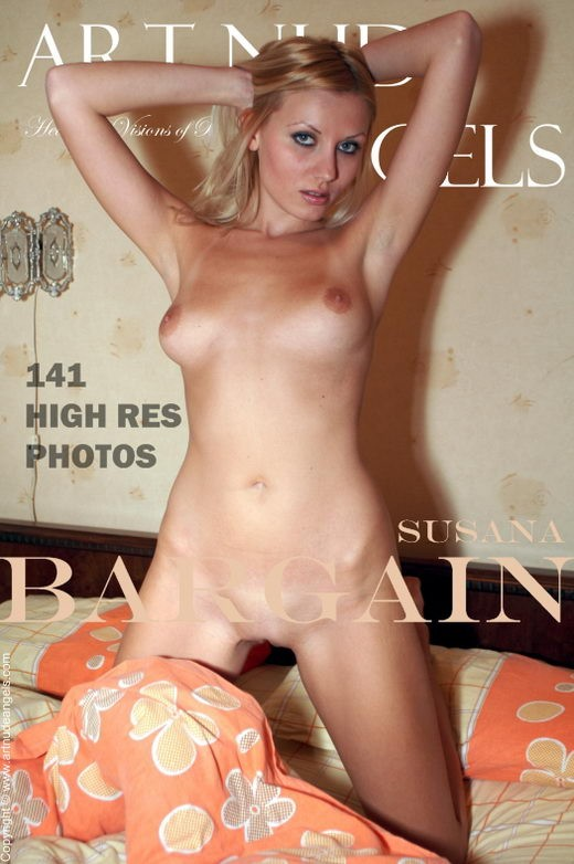 Susana - `Bargain` - by Bredon for ART-NUDE-ANGELS
