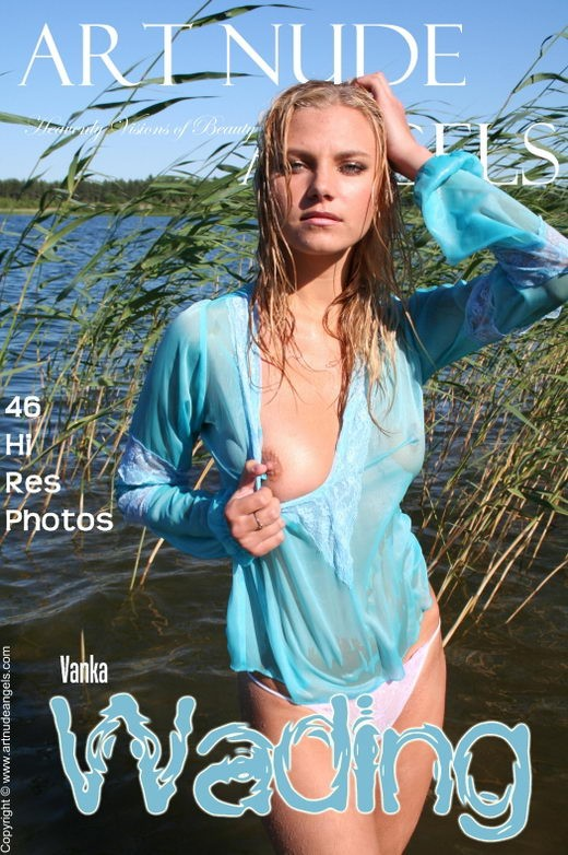 Vanka - `wading` - by Bredon for ART-NUDE-ANGELS