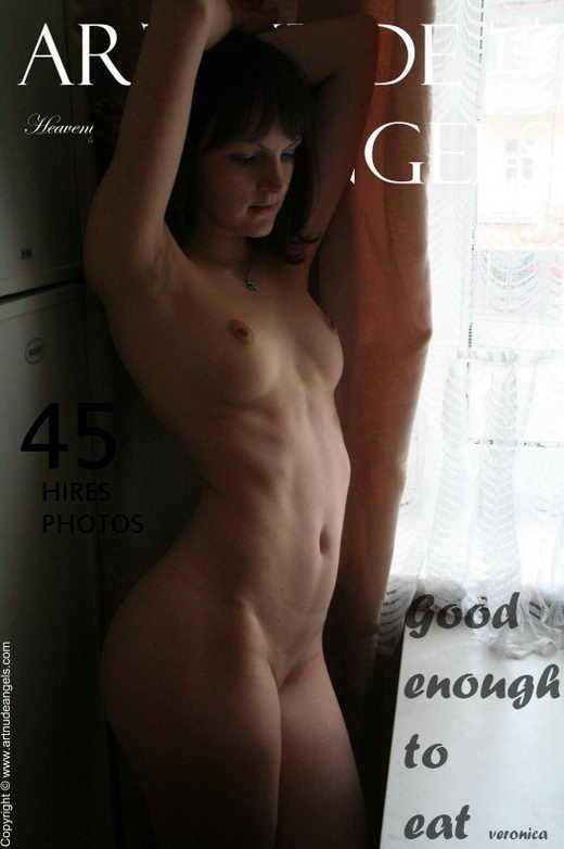 Veronica - `Good Enough to Eat` - by Bredon for ART-NUDE-ANGELS