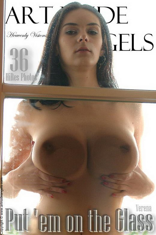 Verena - `Put 'em on the Glass` - by Bredon for ART-NUDE-ANGELS