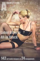 Laima Irbis in All In Black gallery from ARTCORE-CAFE