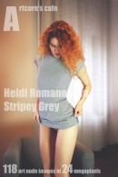 Heidi Romanova - Stripey Grey