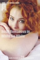 Heidi Romanova in White On White gallery from ARTCORE-CAFE by Andrew D