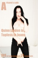 Quinn Linden in Topless In Jeans gallery from ARTCORE-CAFE by Andrew D