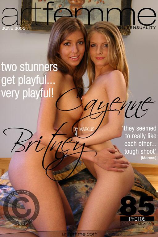Cayenne & Britney - `Cayenne & Britney` - by Marcus for ARTFEMME
