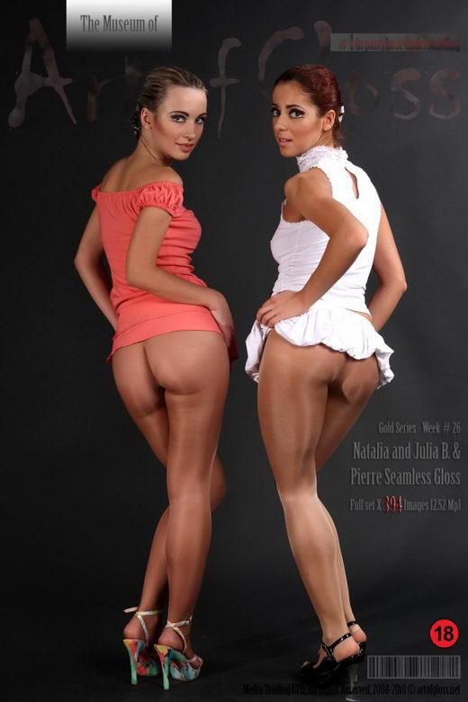 Natalia & Julia B - `Gold Series` - for ARTOFGLOSS