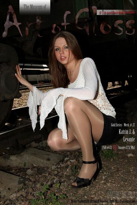 Katrin J - `Gold Series` - for ARTOFGLOSS