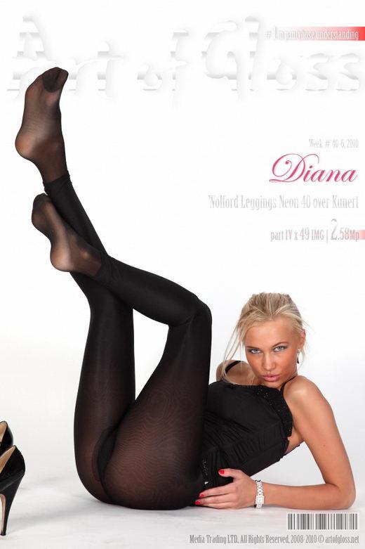 Diana - `Wolford Leggings Neon 40 over Kunert [part IV]` - for ARTOFGLOSS
