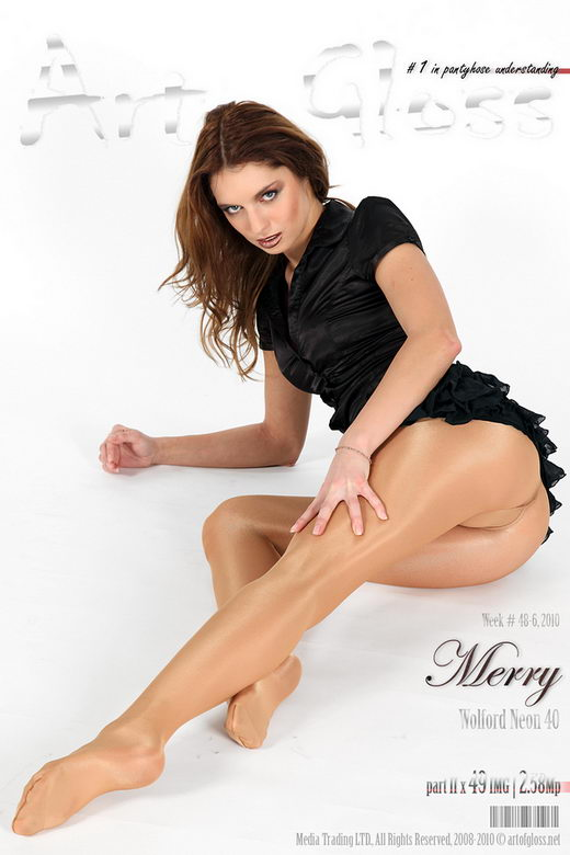 Merry - `Wolford Neon 40 [part II]` - for ARTOFGLOSS