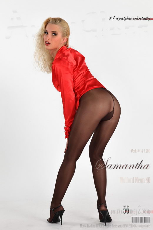 Samantha - `Wolford Neon 40 [part IV]` - for ARTOFGLOSS