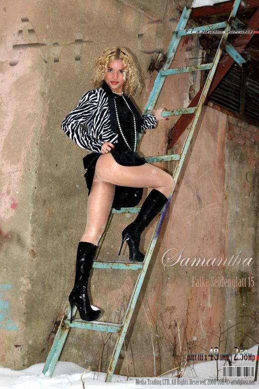 Samantha - `Falke Seidenglatt 15 [part III]` - for ARTOFGLOSS