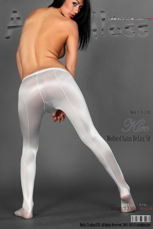 Kleo - `Wolford Satin DeLuxe 50 [part IV]` - for ARTOFGLOSS
