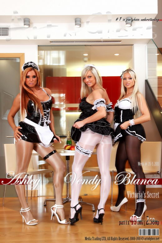Ashley & Vendy & Blanca - `Victoria's Secret [part I]` - for ARTOFGLOSS