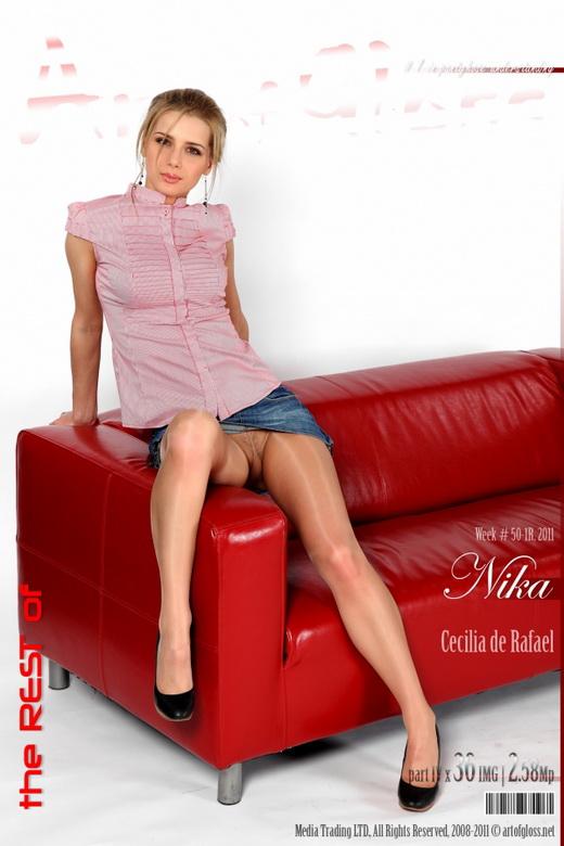 Nika - `Cecilia de Rafael [part IV]` - for ARTOFGLOSS