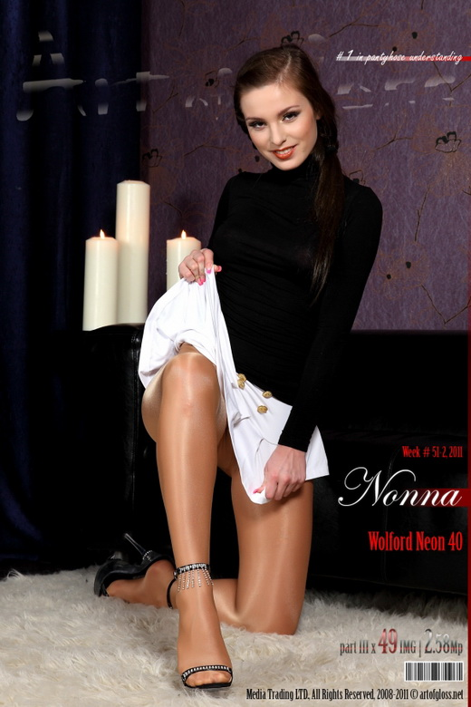 Nonna - `Wolford Neon 40 [part III]` - for ARTOFGLOSS