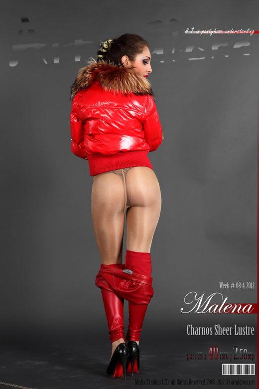 Malena - `Charnos Sheer Lustre [part III]` - for ARTOFGLOSS