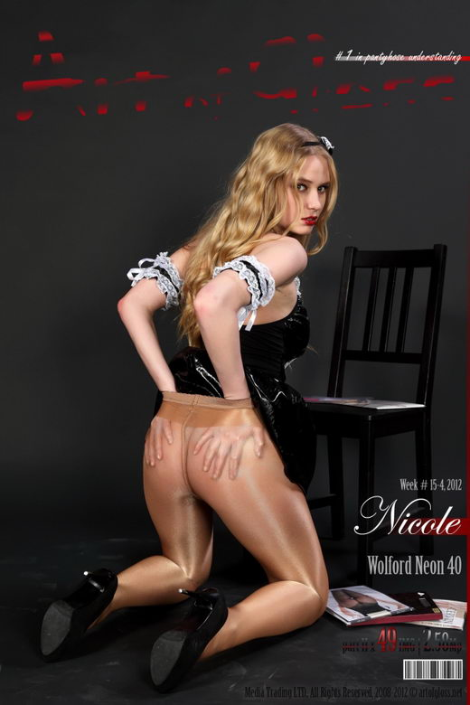 Nicole - `Wolford Neon 40 [part II]` - for ARTOFGLOSS