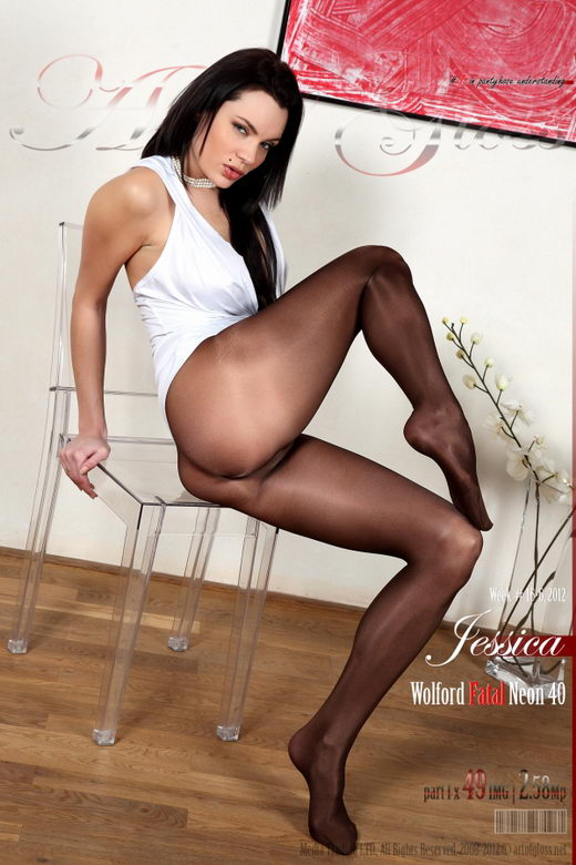 Jessica - `Wolford Fatal Neon 40 [part I]` - for ARTOFGLOSS