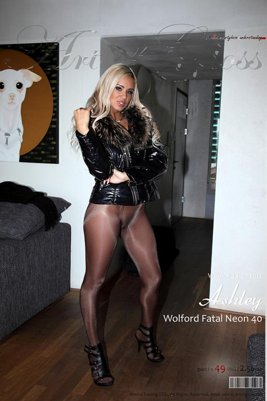 Ashley - `Wolford Fatal Neon 40 [part I]` - for ARTOFGLOSS