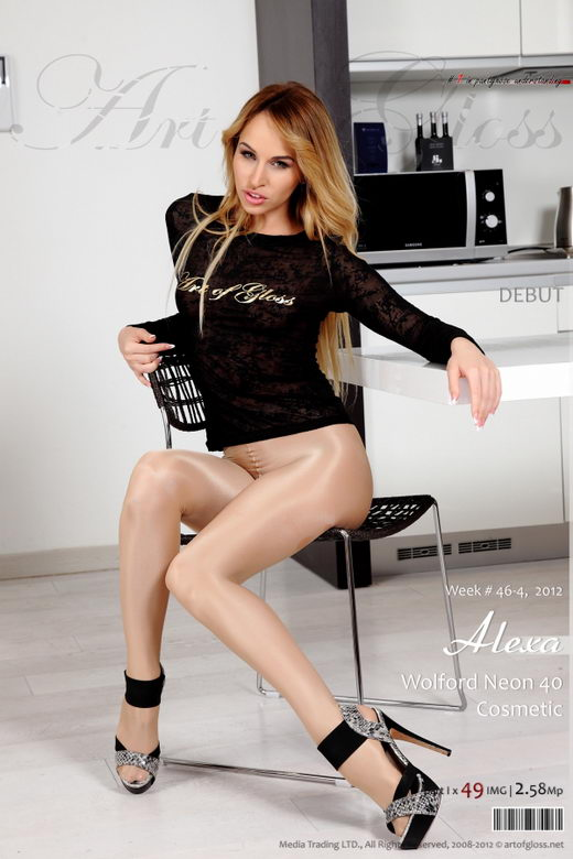 Alexa - `Wolford Neon 40 Cosmetic [part I]` - for ARTOFGLOSS
